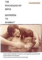 DVD the Psychology of Birth Invitation to Intimacy
